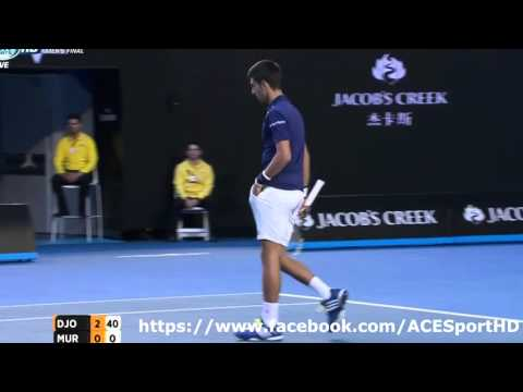 Australian Open 2016: Novak Djokovič – Andy Murray (3:0)