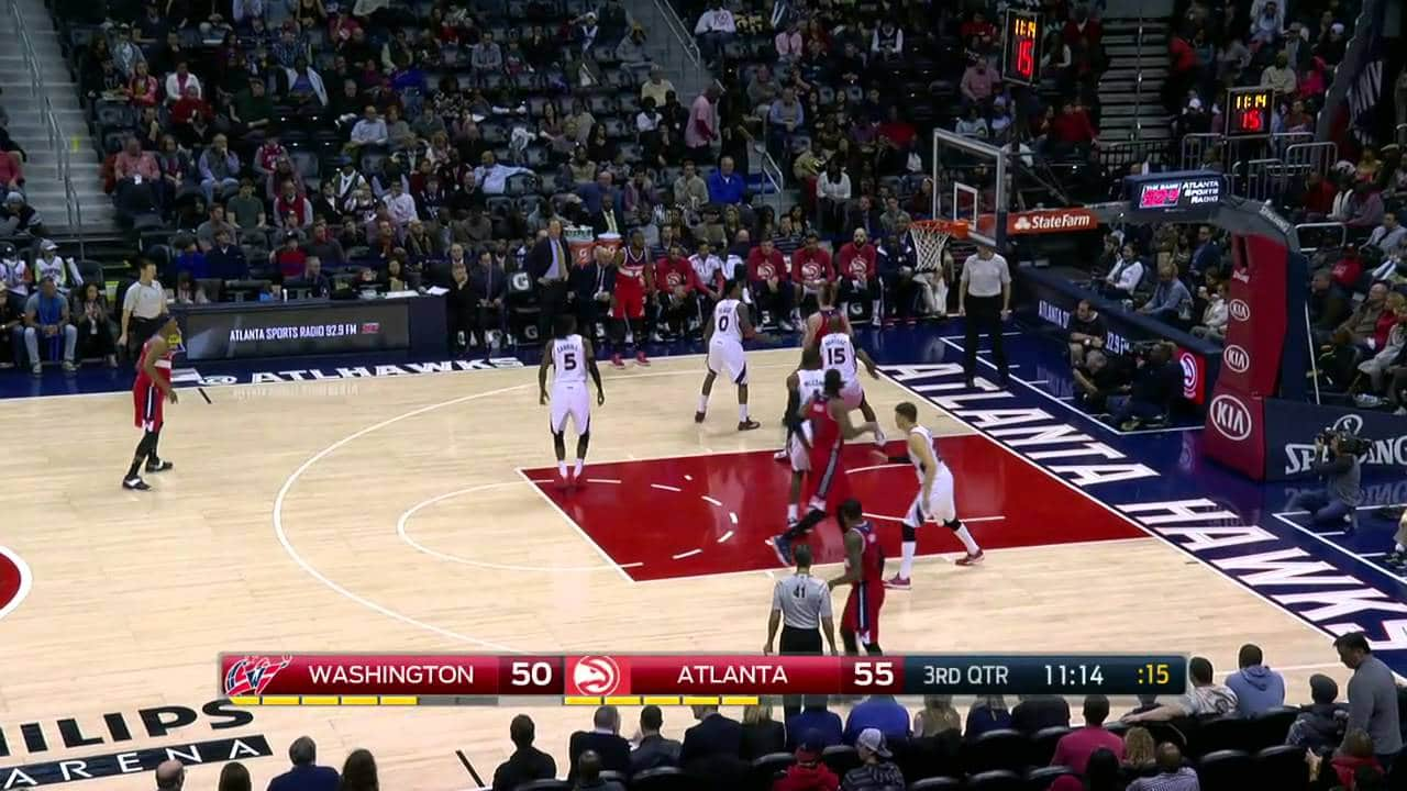 NBA: Atlanta Hawks – Washington Wizards (120:89)