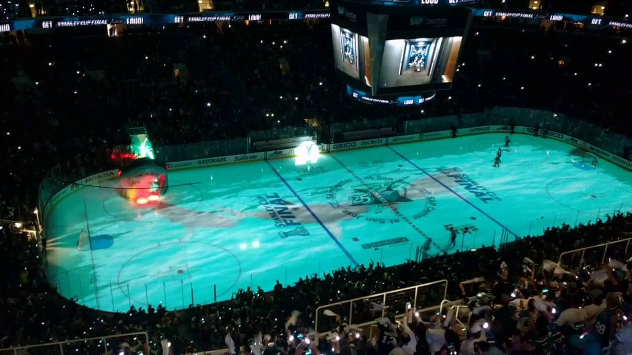 NHL finále 3. zápas: San Jose Sharks – Pittsburgh Penguins (3:2 pp)