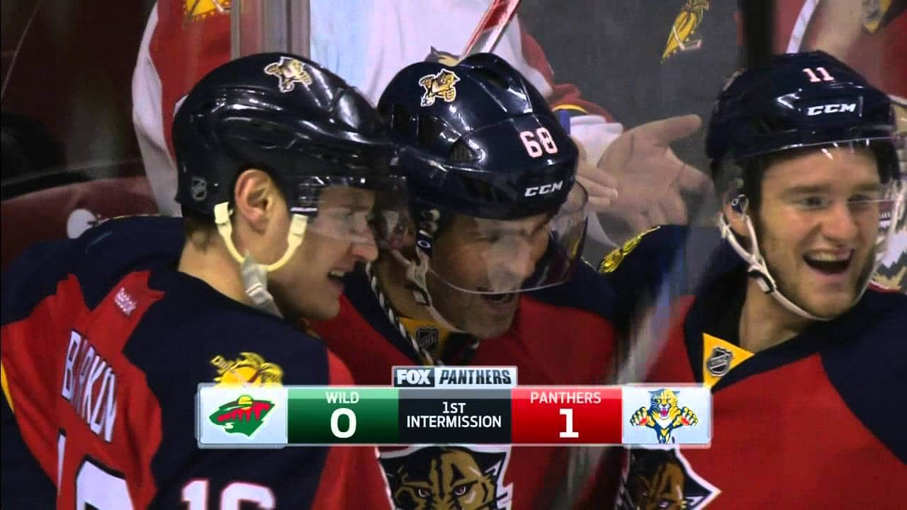 NHL: Florida Panthers – Minnesota Wild (2:1)