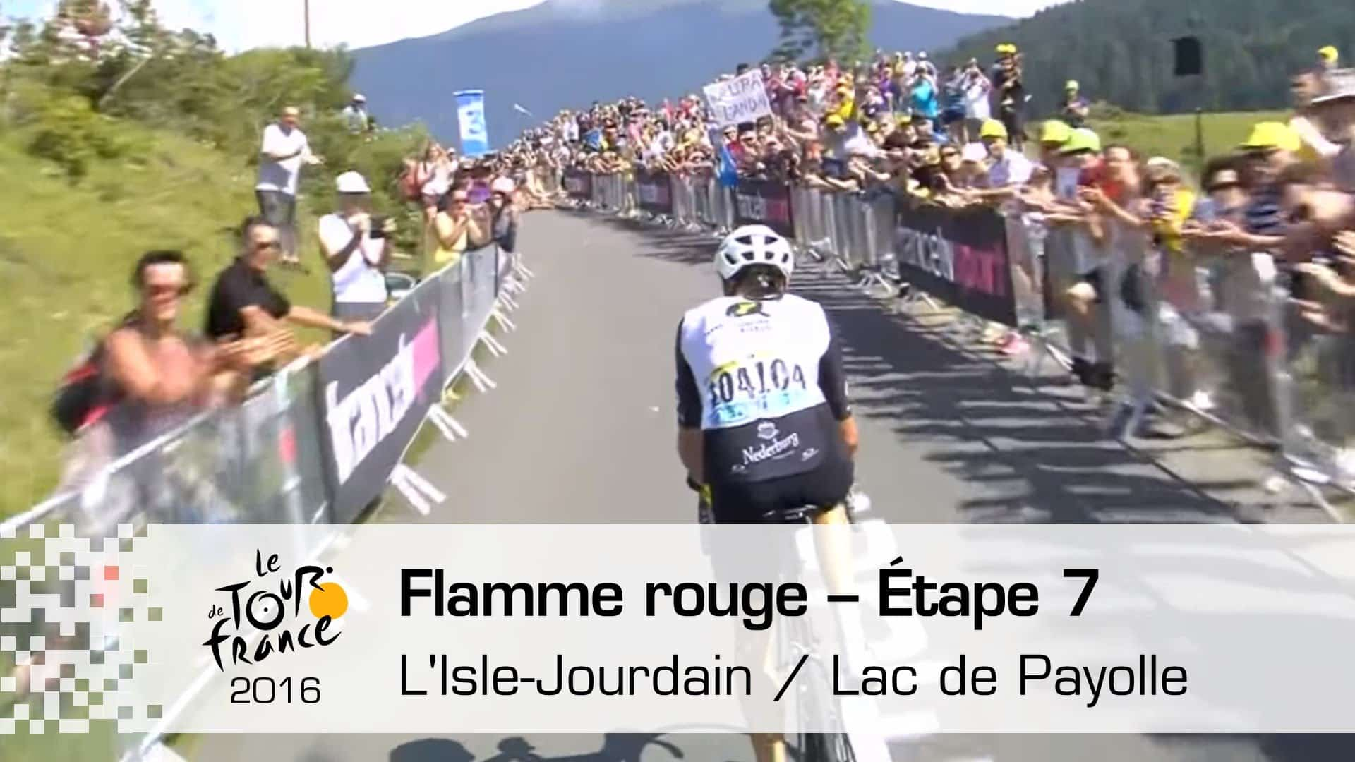 TdF 2016: 7. etapa (L'Isle-Jourdain > Lac Payolle) S. Cummings