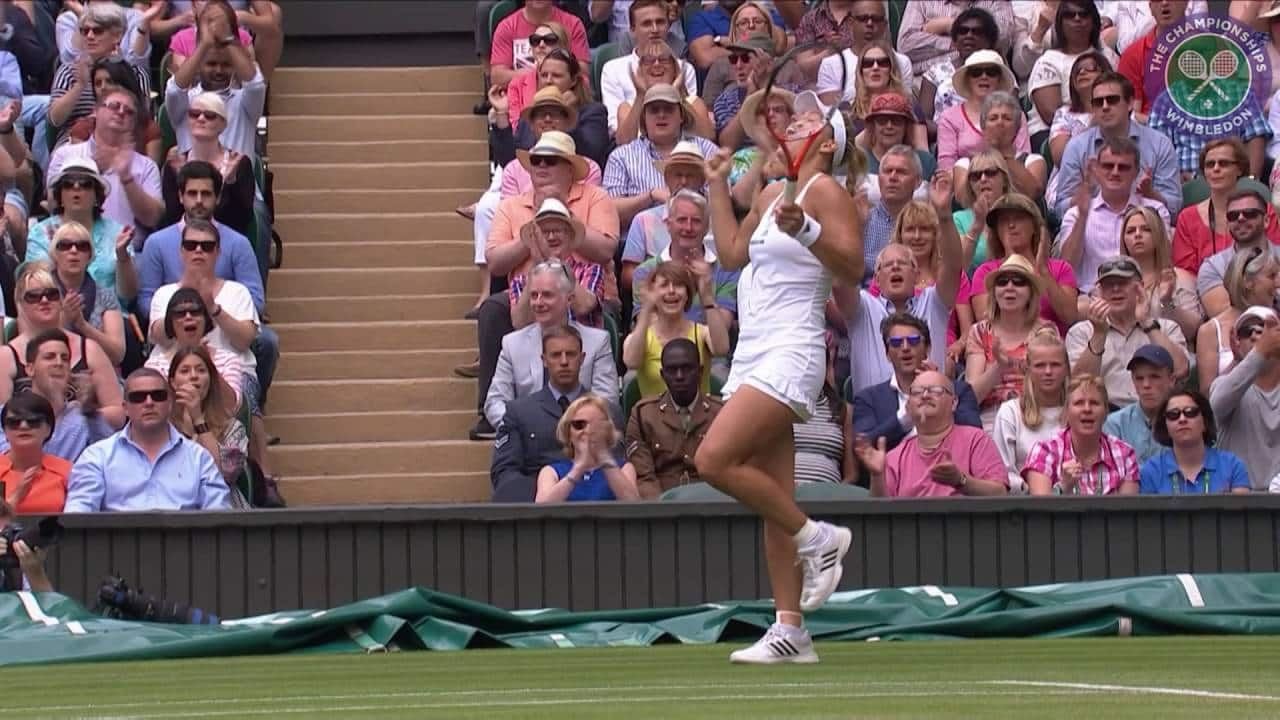 Finále: Serena Williams – Angelique Kerber (2:0)