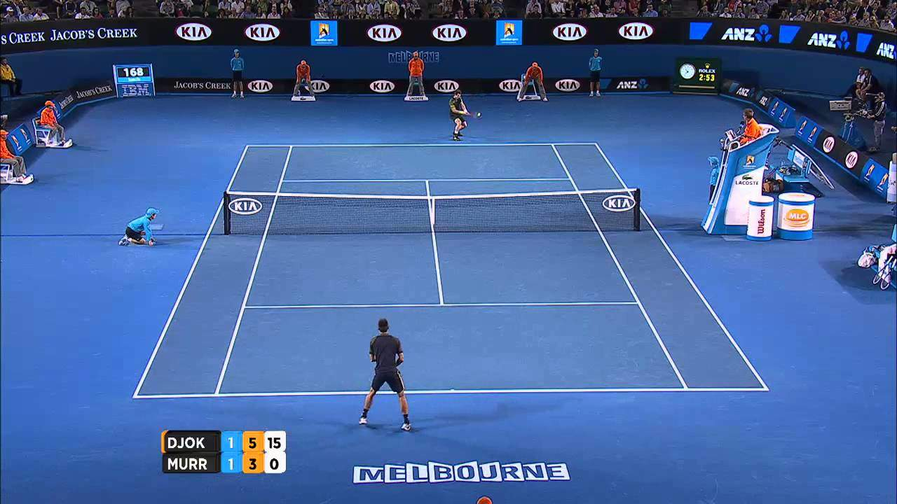 AO 2013: Novak Djokovič – Andy Murray (3:1)