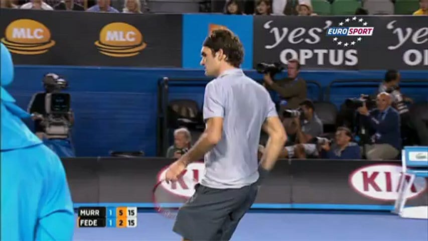 AO 2013: Roger Federer – Andy Murray (2:3)