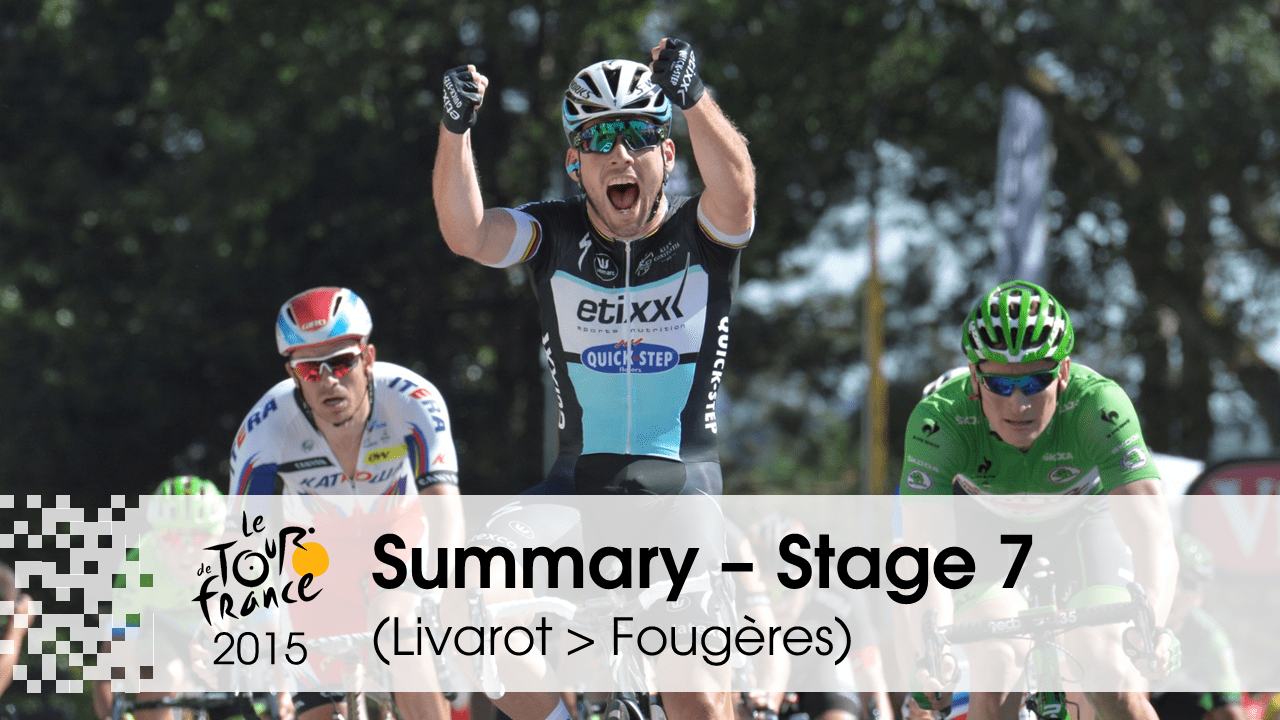 Tour de France 2015 – 7. etapa: Online prenos (Mark Cavendish)