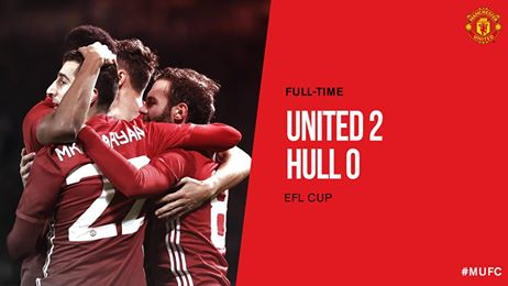 EFL Cup: Manchester United – Hull City (2:0)