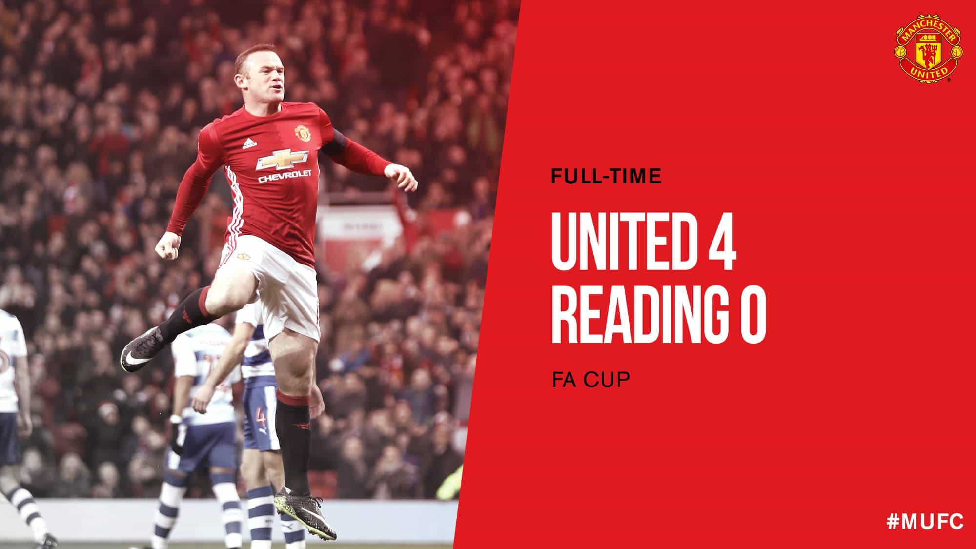 FA Cup: Manchester United – Reading (4:0)