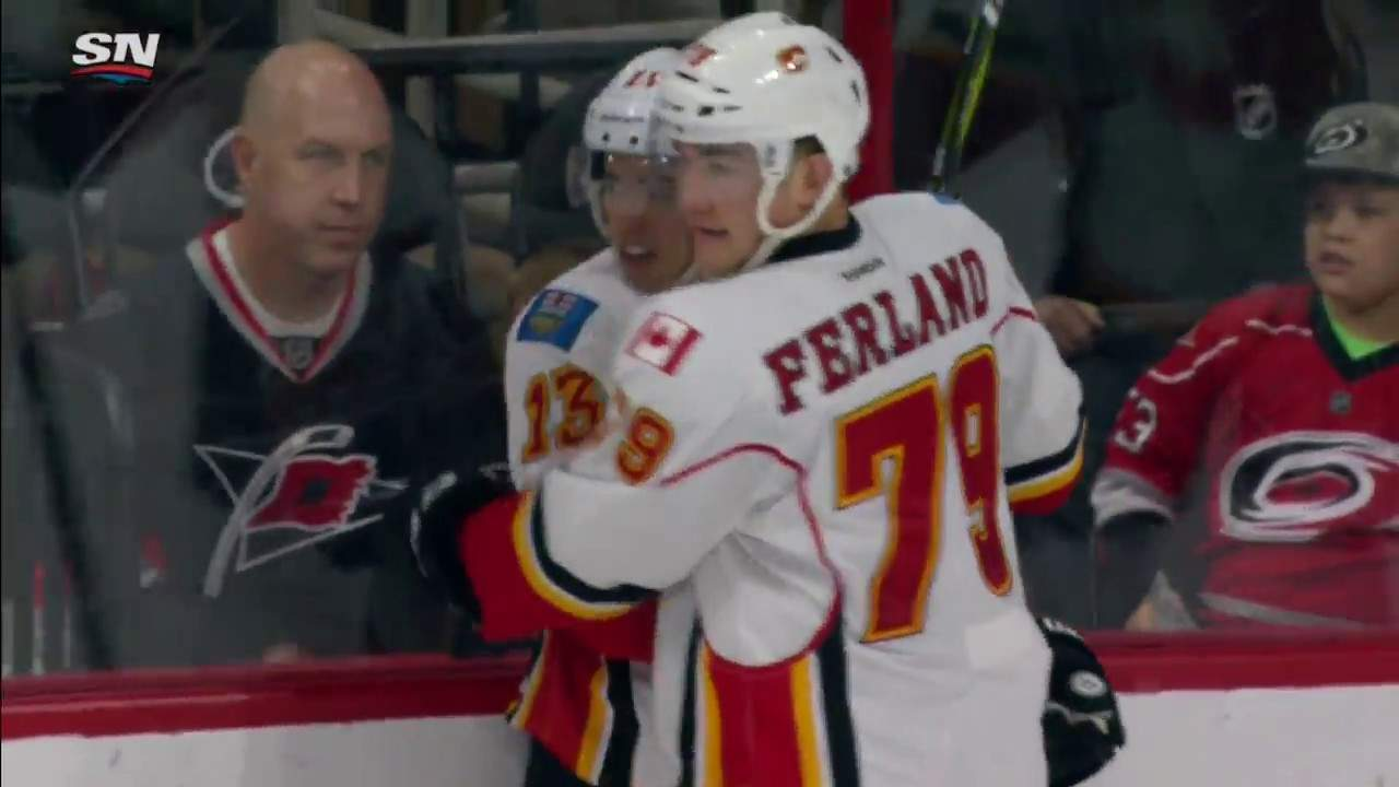 Carolina Hurricanes – Calgary Flames (1:3)