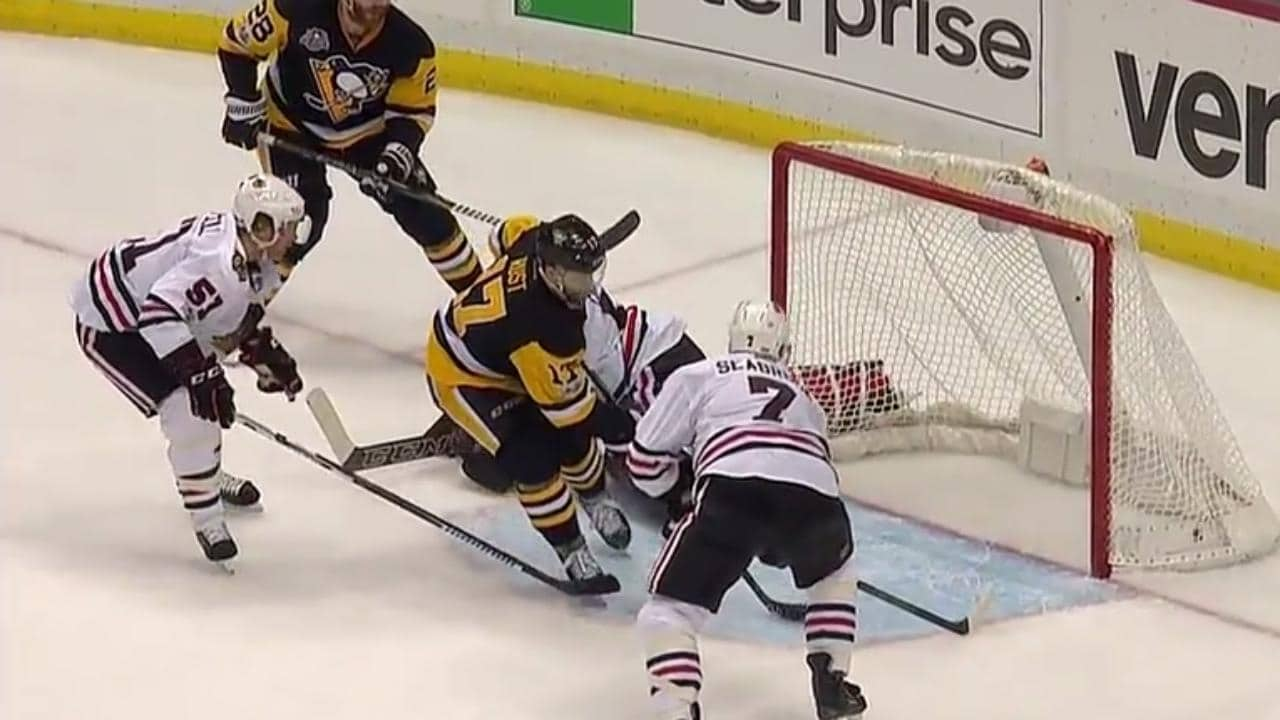 Pittsburgh Penguins – Chicago Blackhawks (1:5)