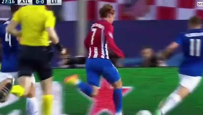 Atlético Madrid – Leicester City (1:0)