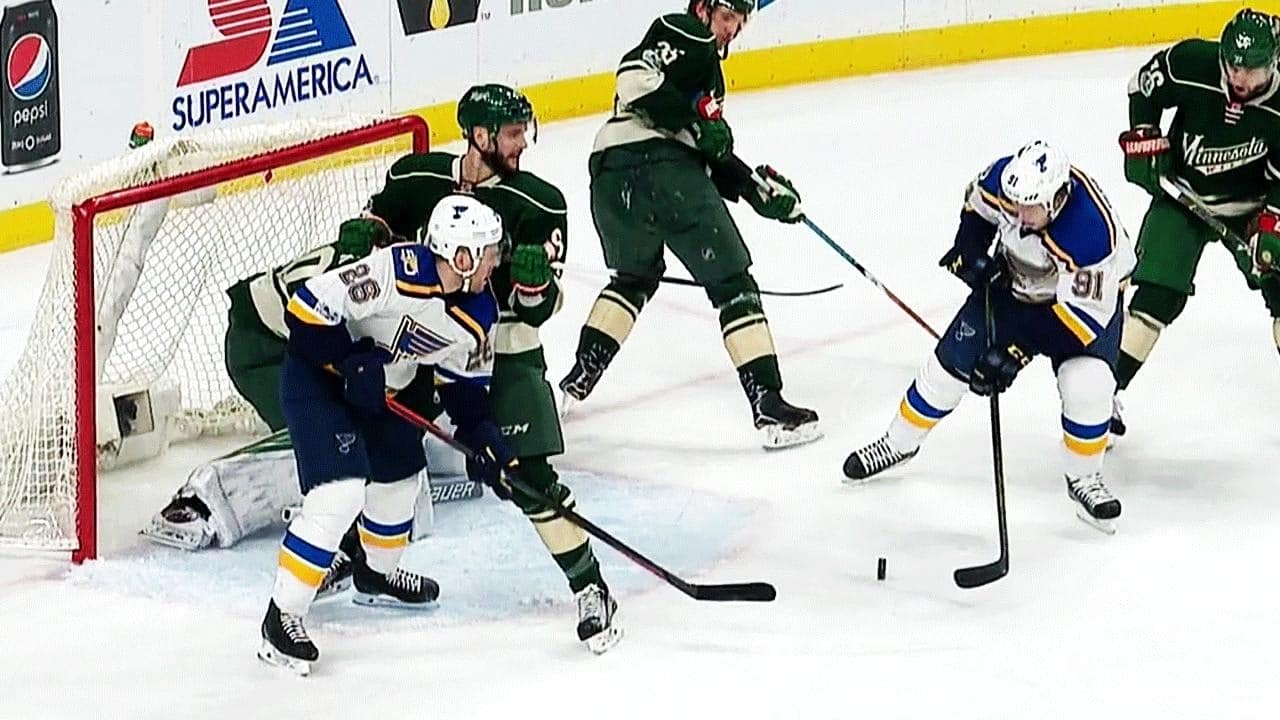 Minnesota Wild – St. Louis Blues (3:4 pp)