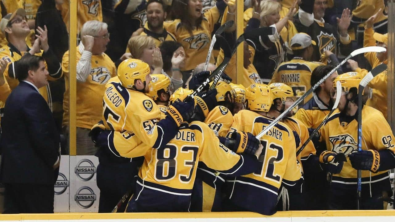 Nashville Predators – St. Louis Blues (3:1)