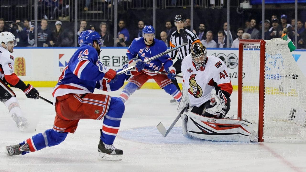 New York Rangers – Ottawa Senators (4:1)