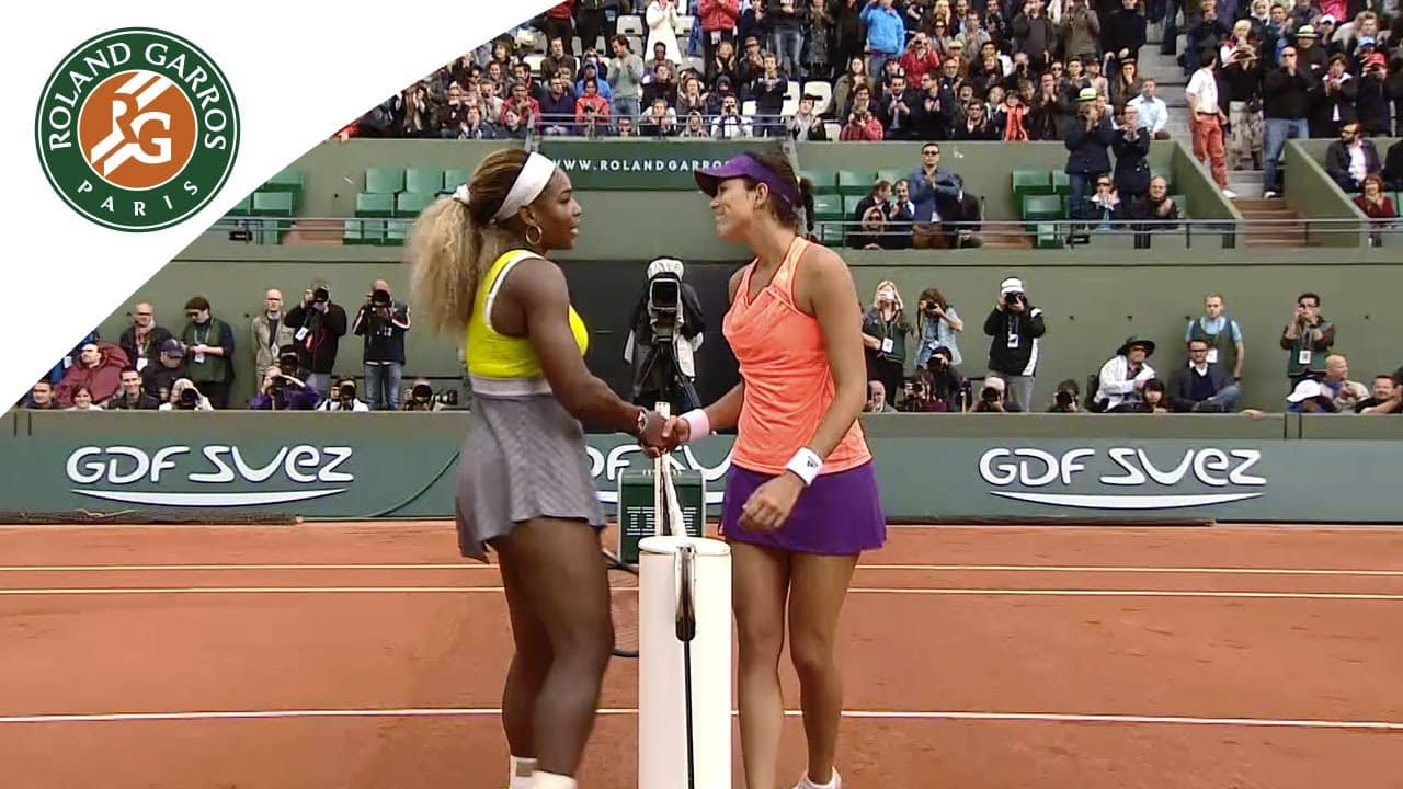 RG 2016 (finále): S. Williams – G. Muguruza (0:2)