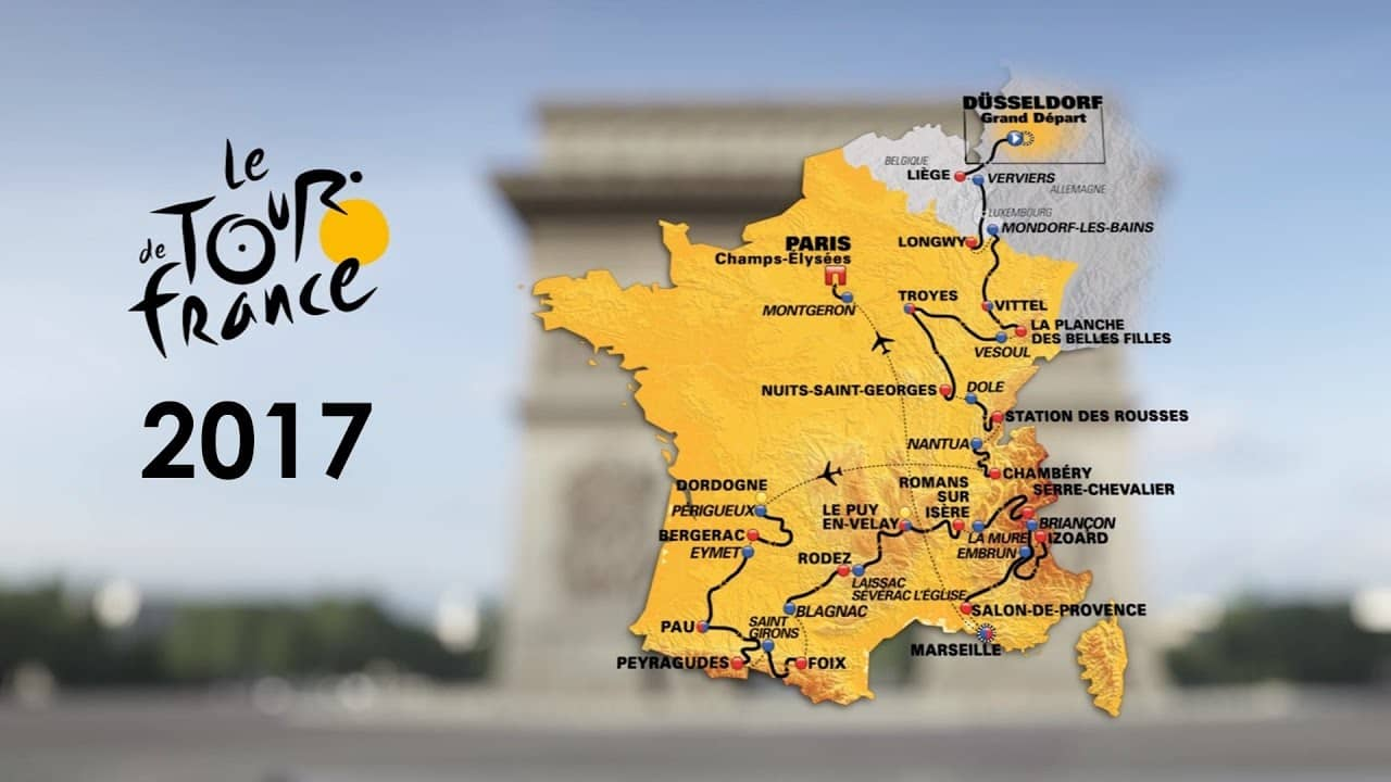 TdF 2017 – Program, etapy, výsledky a video