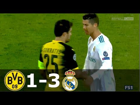 Borussia Dortmund – Real Madrid (1:3)