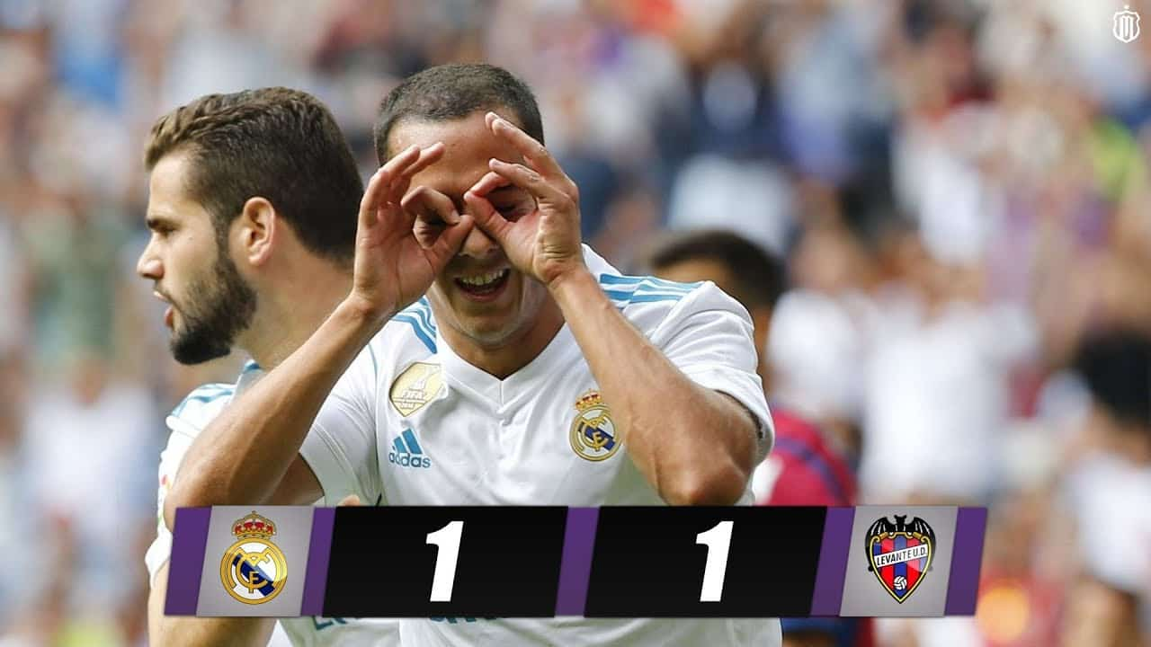 La Liga: Real Madrid – Levante (3:0)