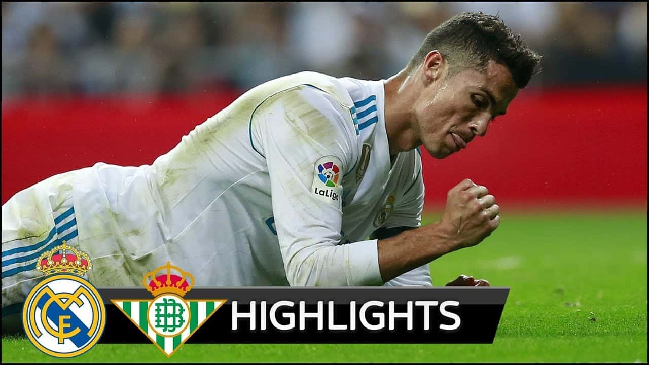 La Liga: Real Madrid – Real Betis (0:1)