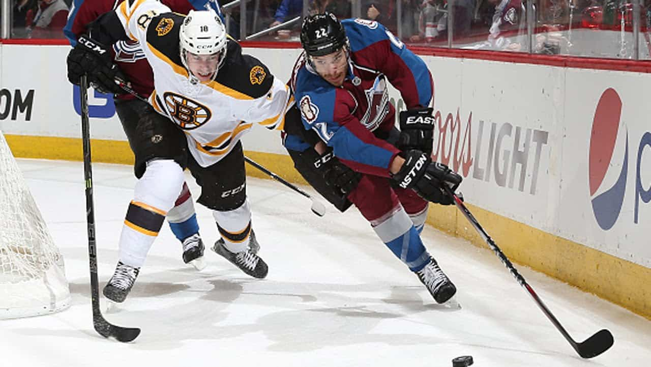 Boston Bruins – Colorado Avalanche (0:4)