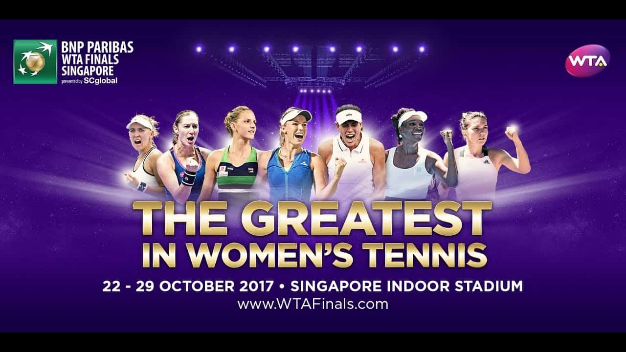 WTA Finals – Singapore 2017 (program a výsledky)