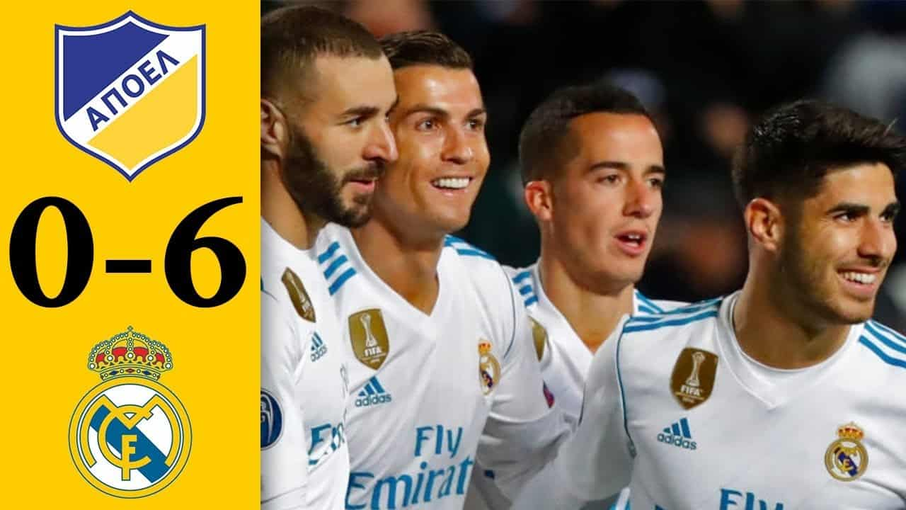 APOEL – Real Madrid (0:6)