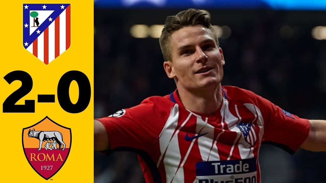 Atlético Madrid – AS Rím (2:0)