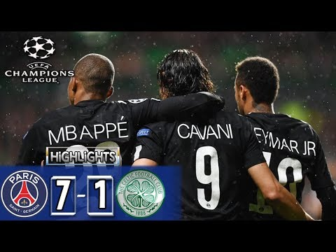Paríž Saint-Germain – Celtic (7:1)