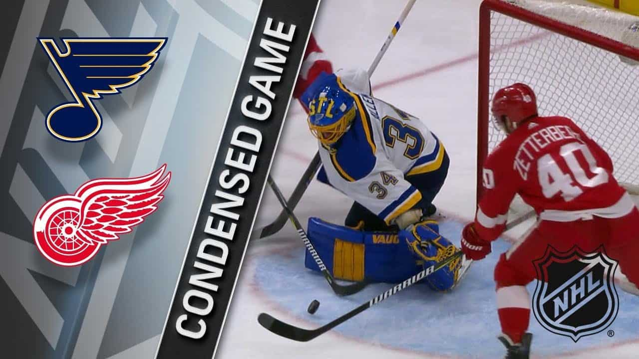 Detroit Red Wings – St. Louis Blues (1:6)