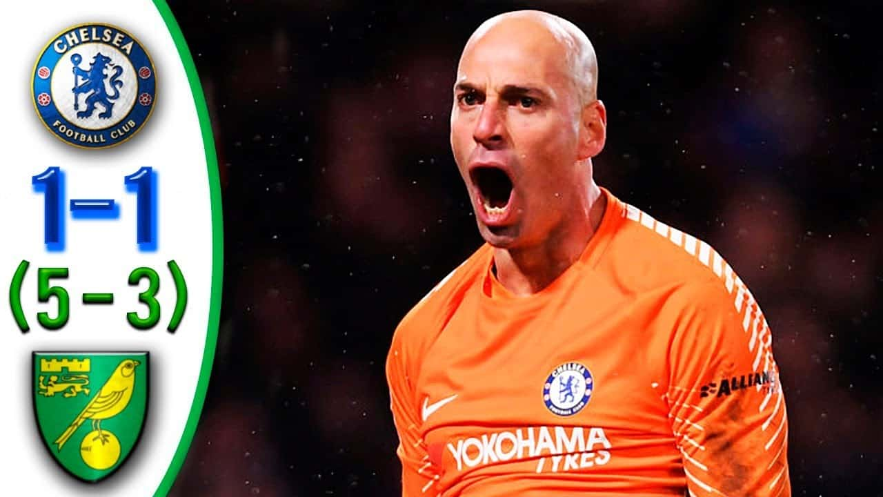 Chelsea – Norwich City (2:1 po penaltách)