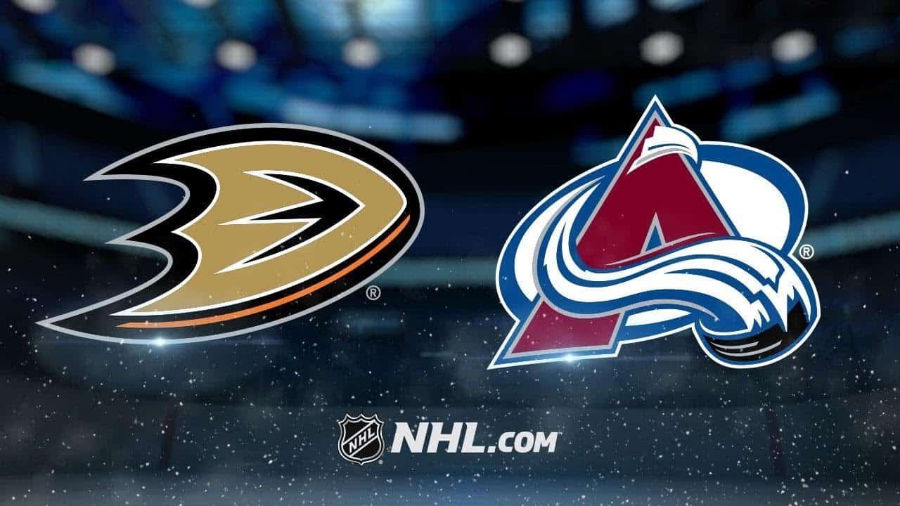 Colorado Avalanche – Anaheim Ducks (3:1)