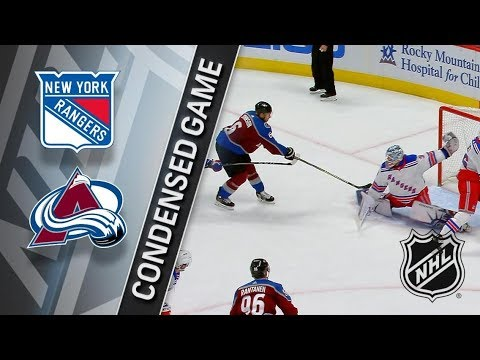 Colorado Avalanche – New York Rangers (3:1)