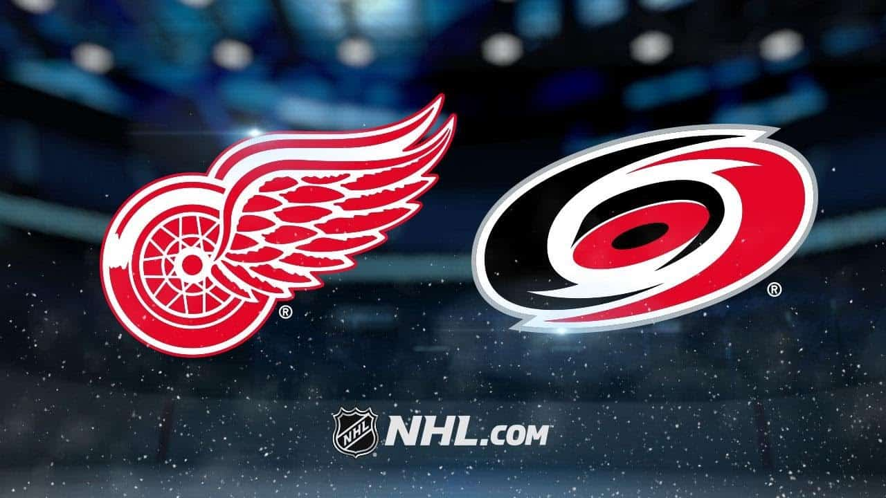 Carolina Hurricanes – Detroit Red Wings (1:4)