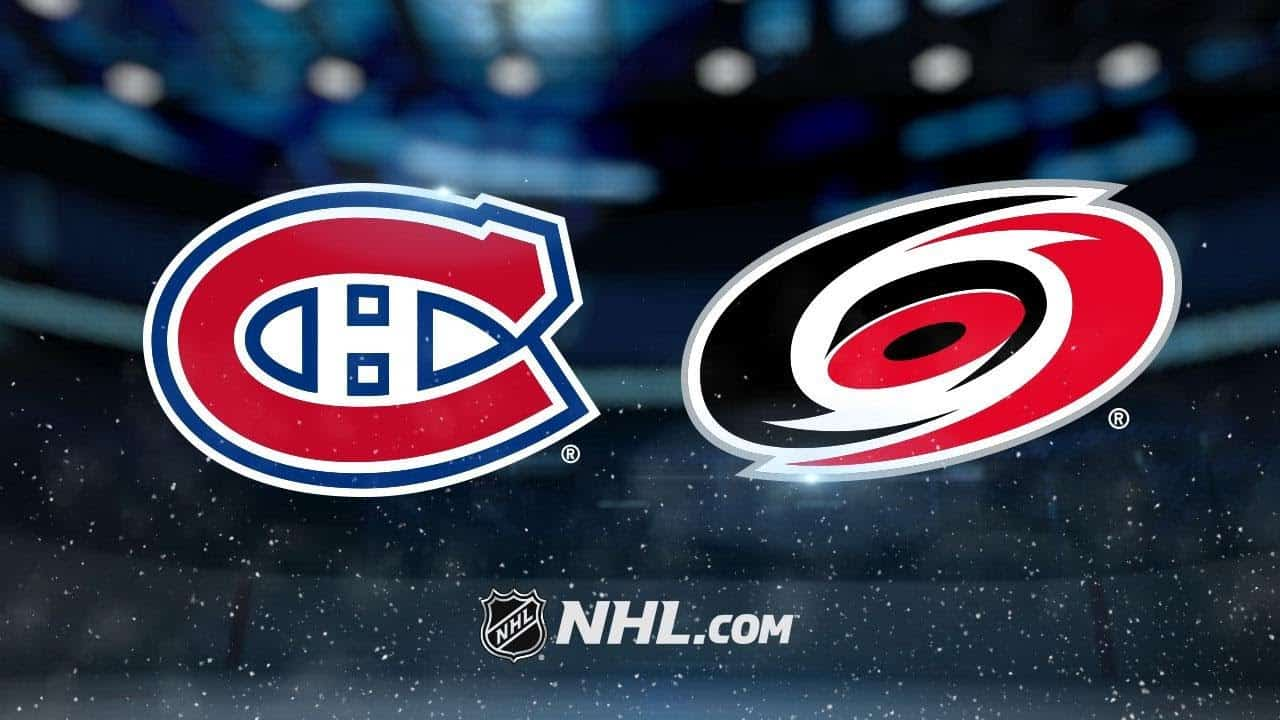 Carolina Hurricanes – Montreal Canadiens (2:0)