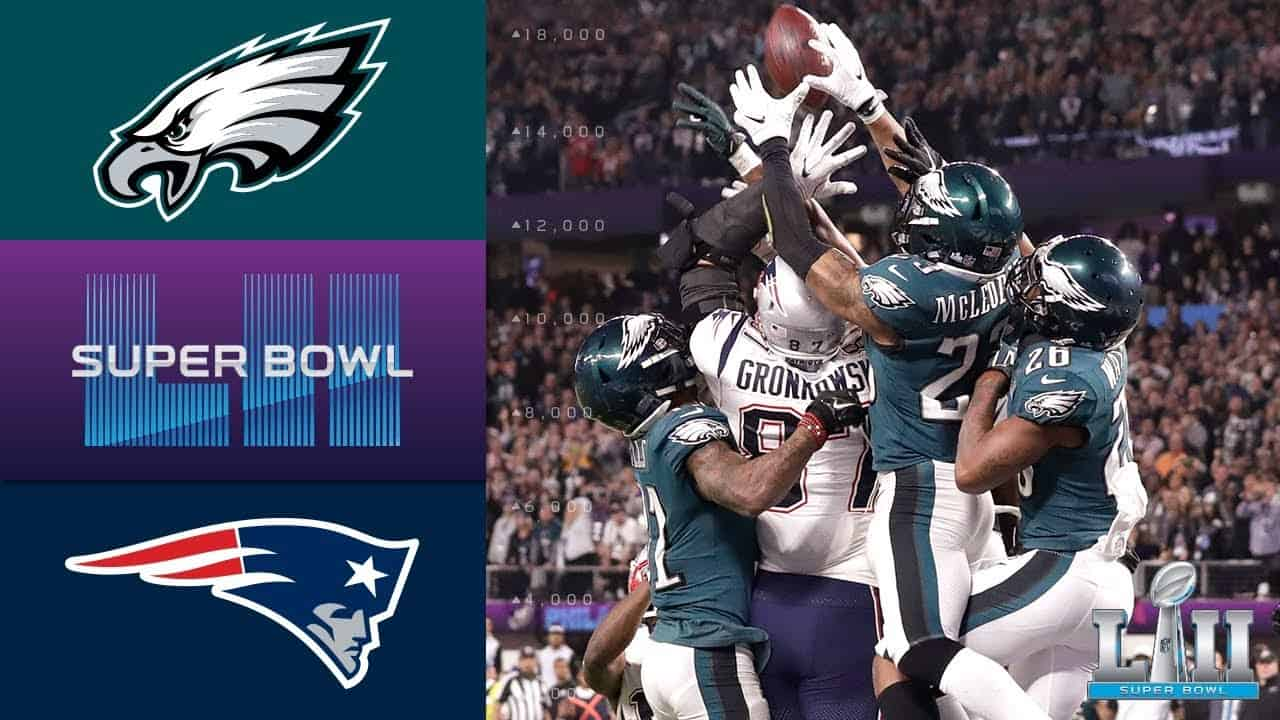 Super Bowl 2018 : Philadelphia Eagles – England Patriots (41:33)