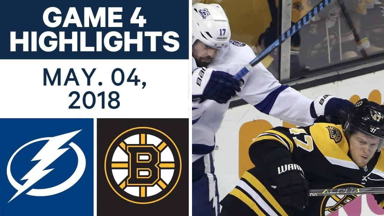 Boston Bruins – Tampa Bay Lightning (3:4 pp)