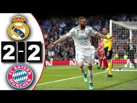 Real Madrid – Bayern Mníchov (2:2)